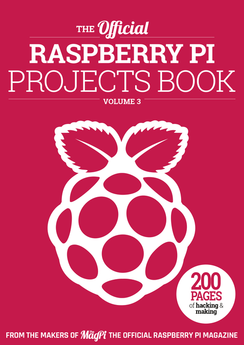 Cover of Raspberry Pi Projects Book 3