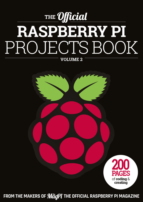 Cover of Raspberry Pi Projects Book 2