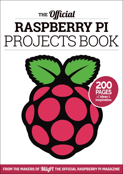 Cover of Raspberry Pi Projects Book 1