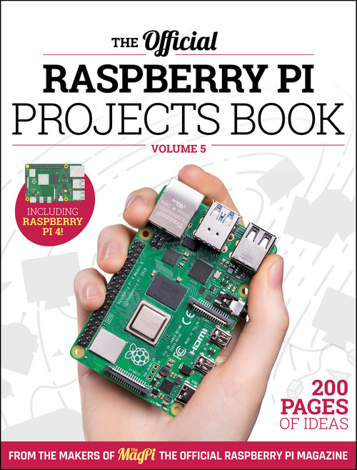 Cover of Raspberry Pi Projects Book 5