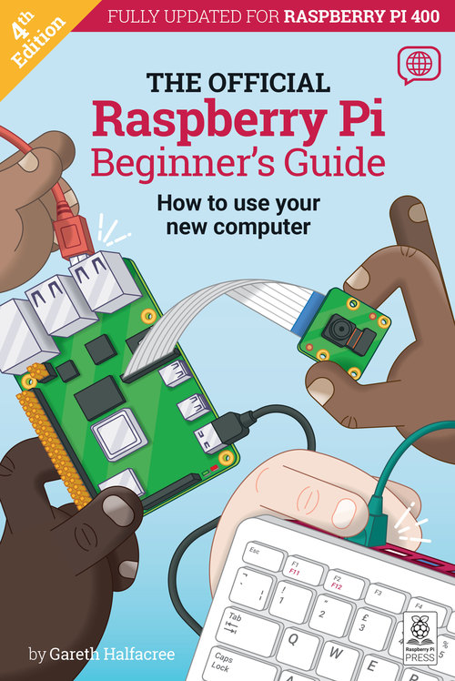 Cover of Raspberry Pi Beginner's Guide 4th Edition