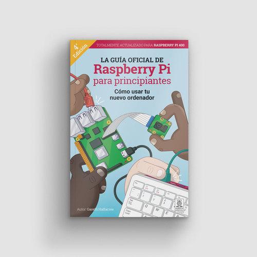 Cover of La guía oficial de Raspberry Pi para principiantes