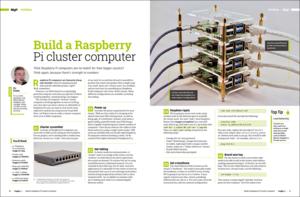 Make a Raspberry Pi 4 Cluster Computer