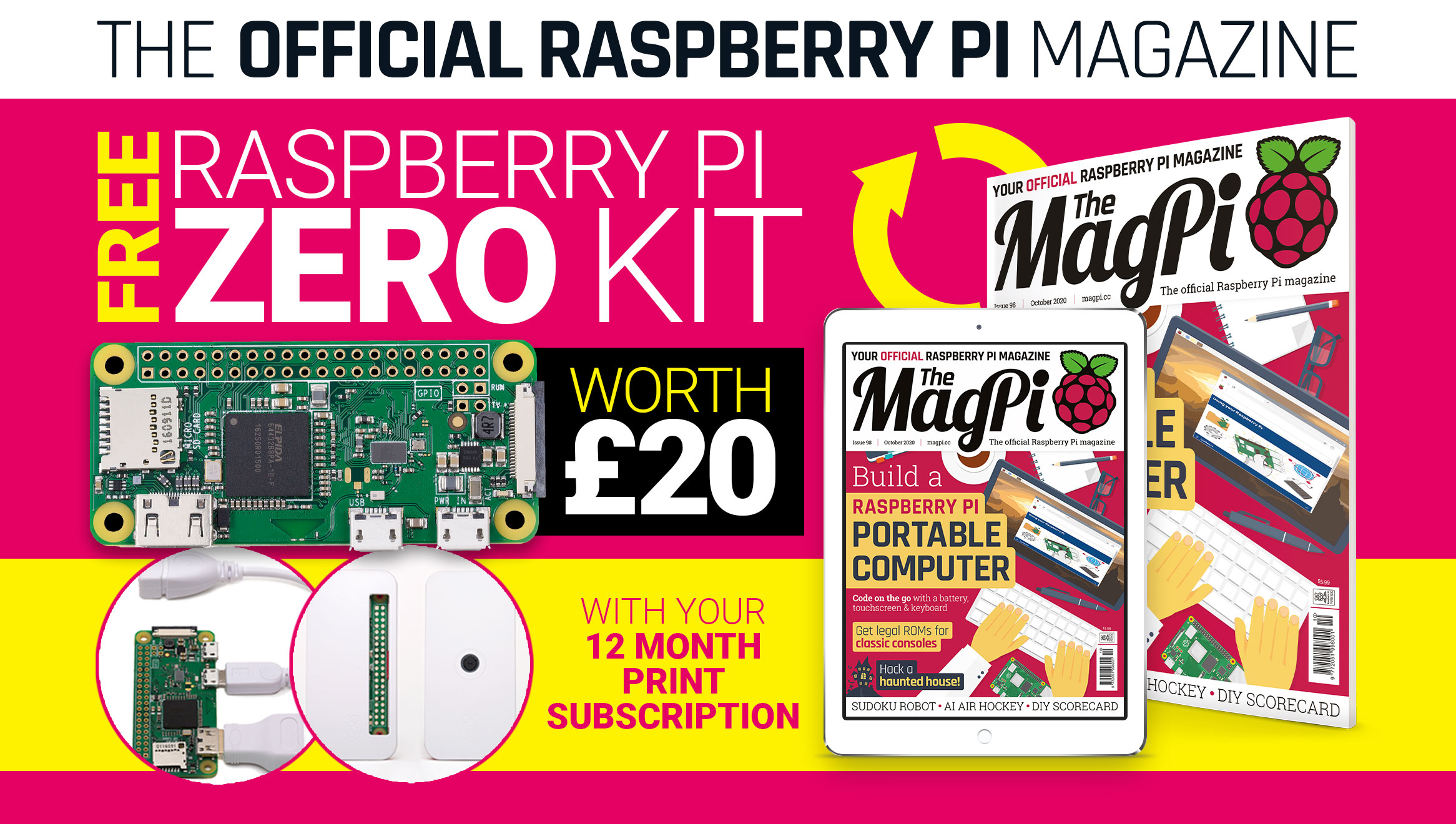 The MagPi issue 98 cover