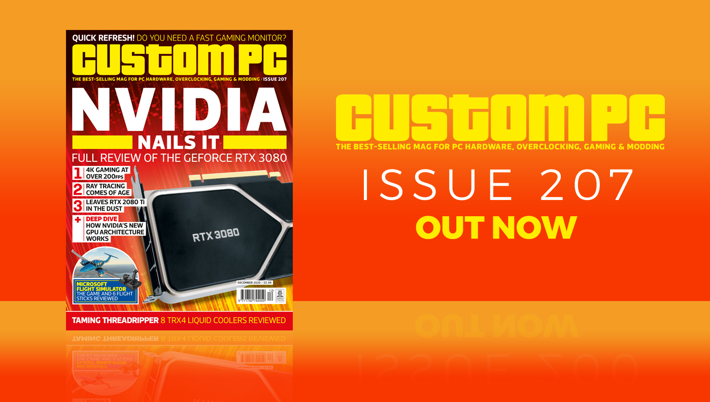 Custom PC issue 207 cover