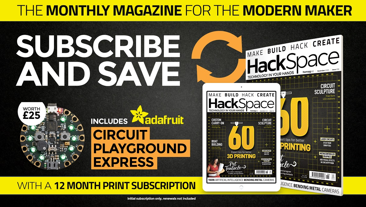 HackSpace magazine issue 36 cover
