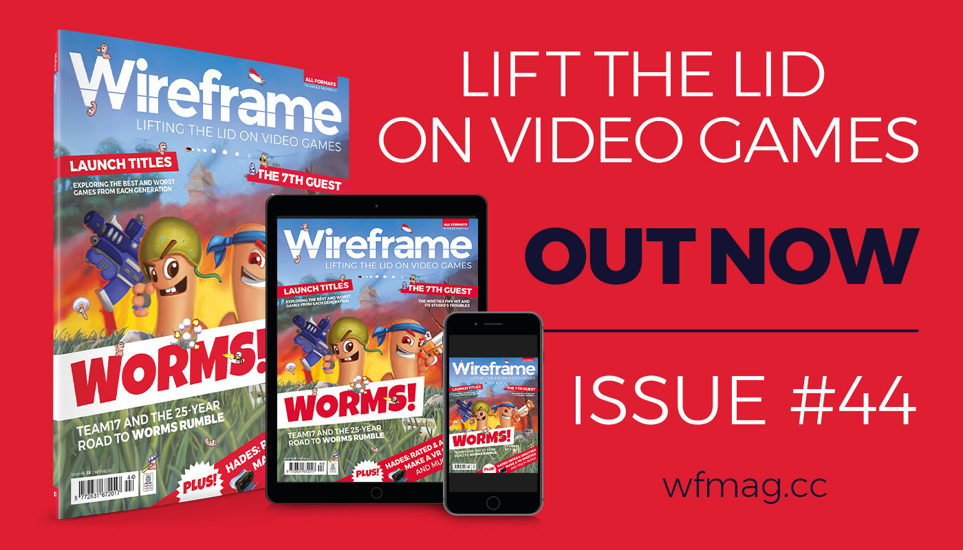 Wireframe issue 44 cover