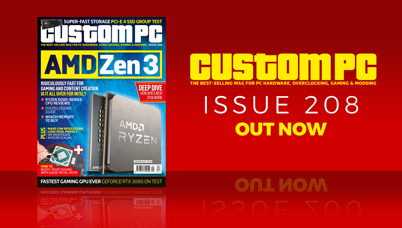 Custom PC issue 208 cover