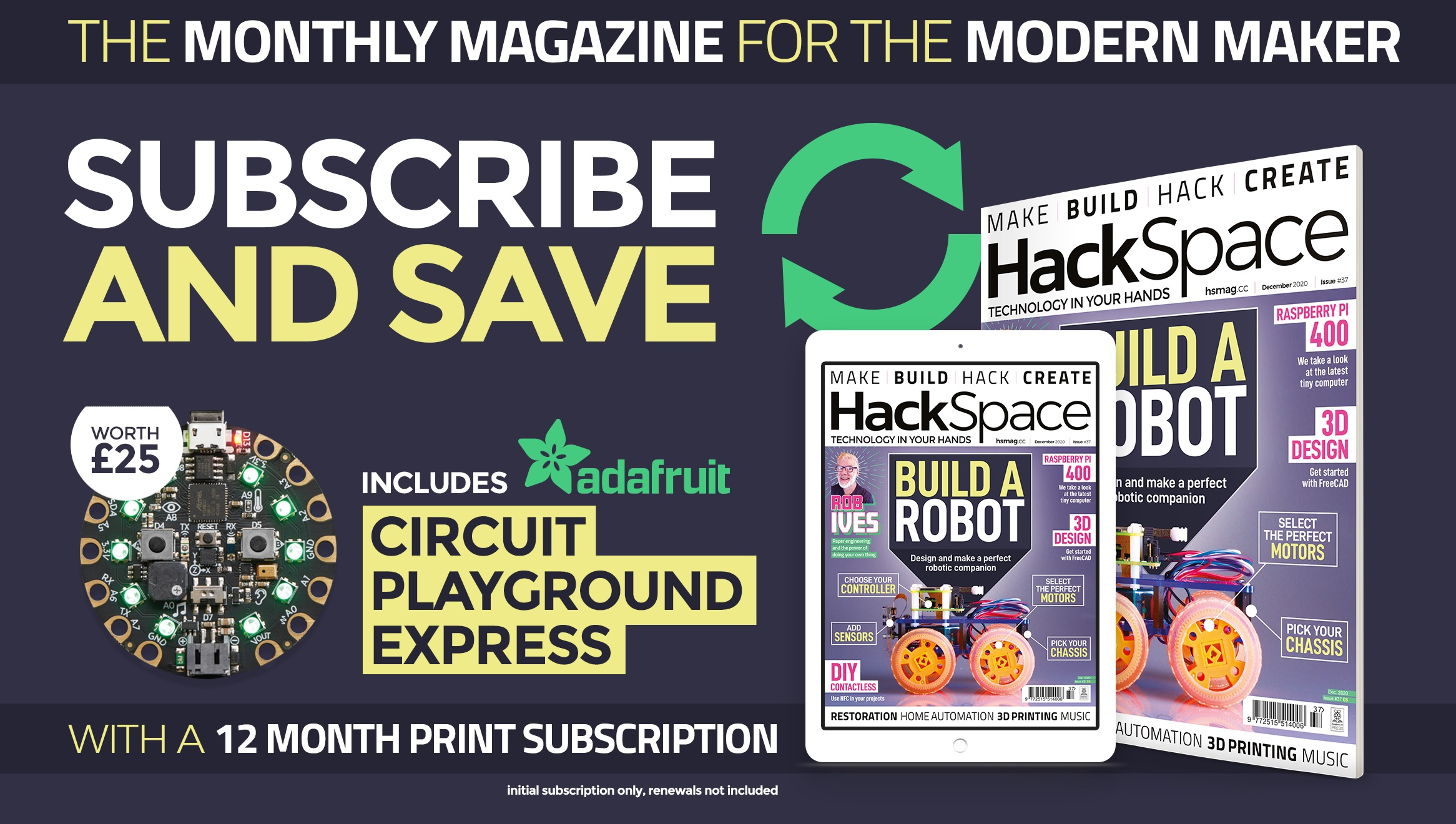 HackSpace magazine issue 37 cover