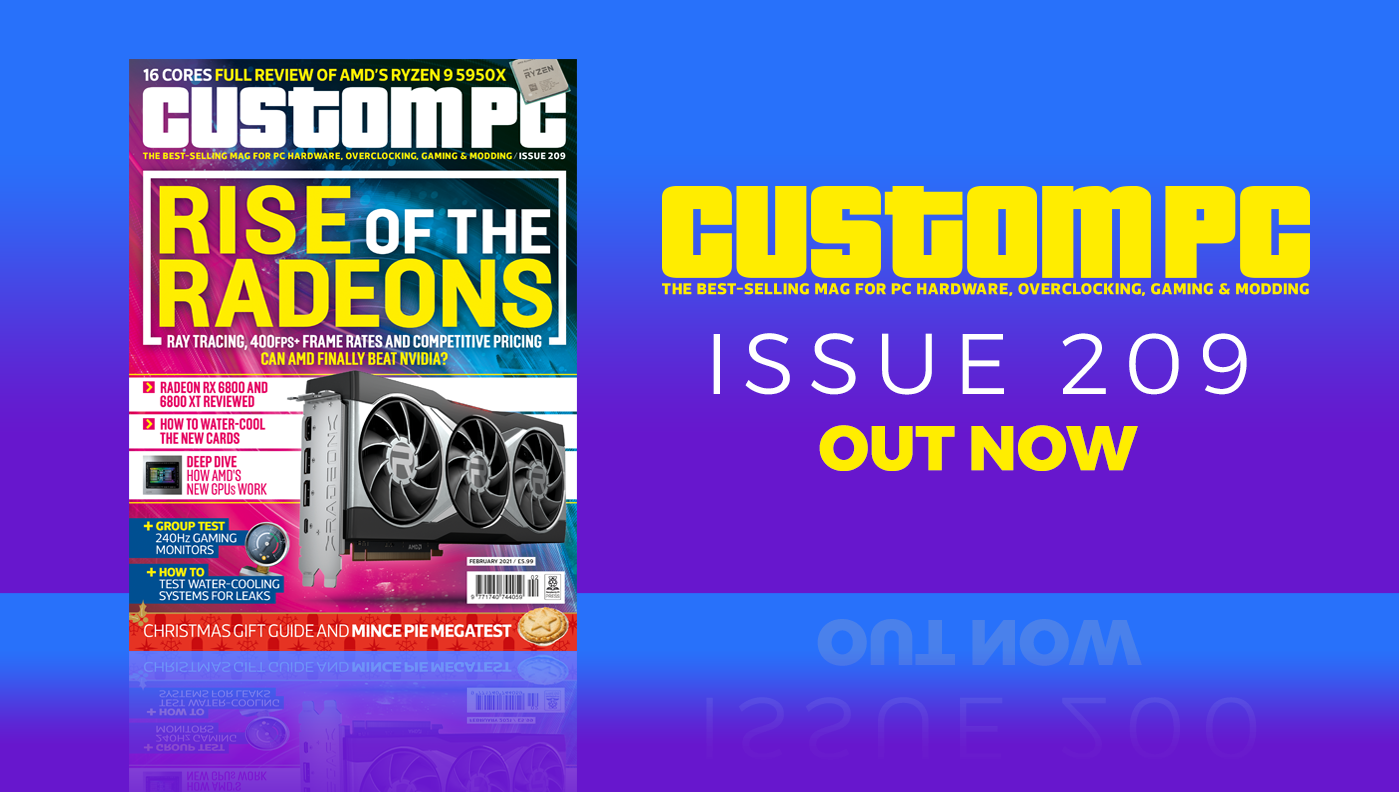 Custom PC issue 209 cover