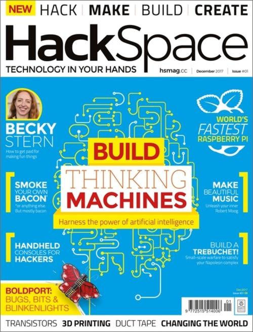 HackSpace magazine issue 1 cover