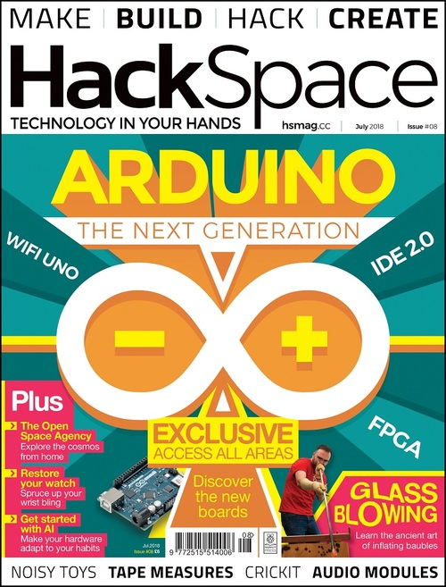 HackSpace magazine issue 8 cover