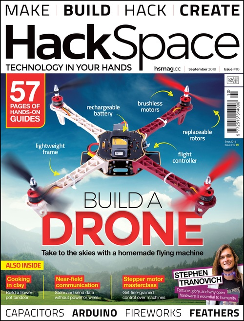 HackSpace magazine issue 10 cover