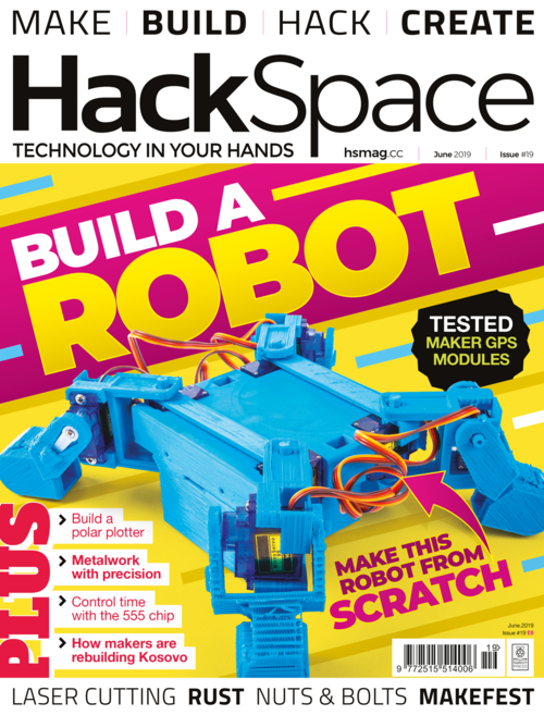 HackSpace magazine issue 19 cover