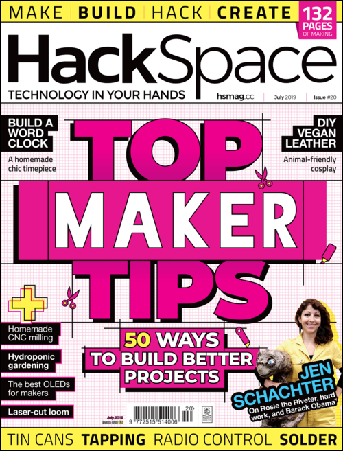 HackSpace magazine issue 20 cover