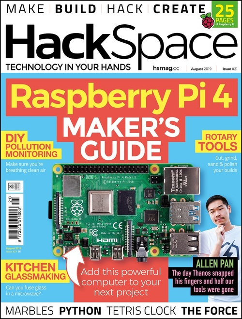 HackSpace magazine issue 21 cover