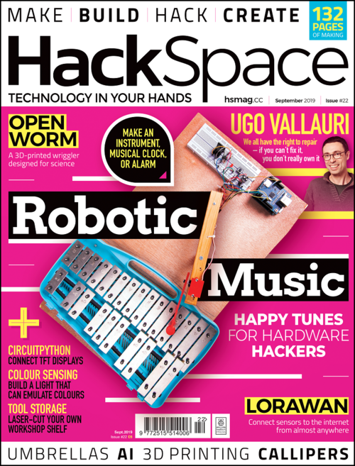 HackSpace magazine issue 22 cover