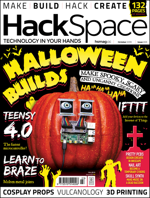 HackSpace magazine issue 23 cover