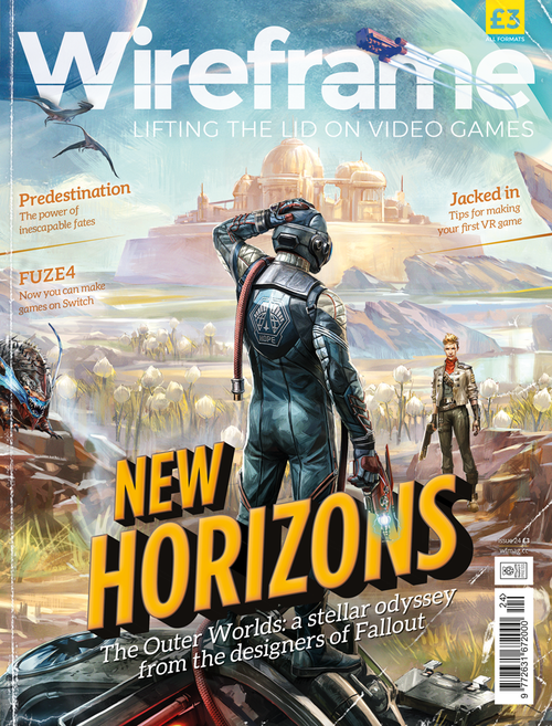 Wireframe issue 24 cover