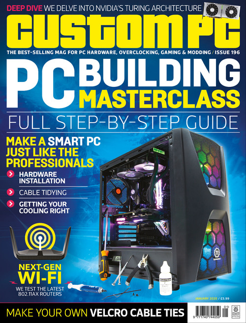 Custom PC issue 196 cover