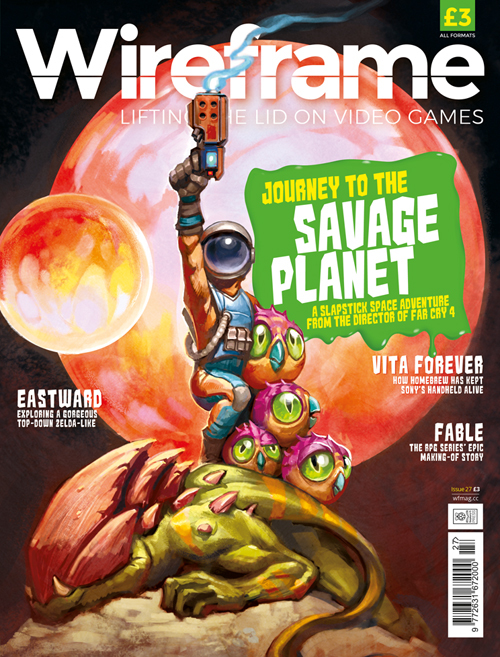 Wireframe issue 27 cover