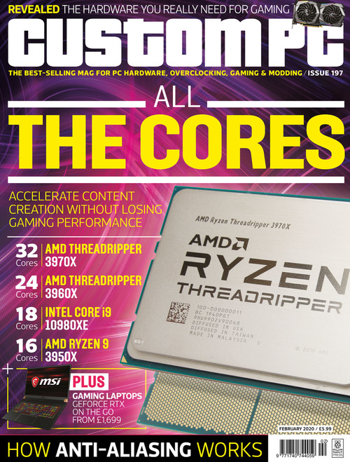 Custom PC issue 197 cover