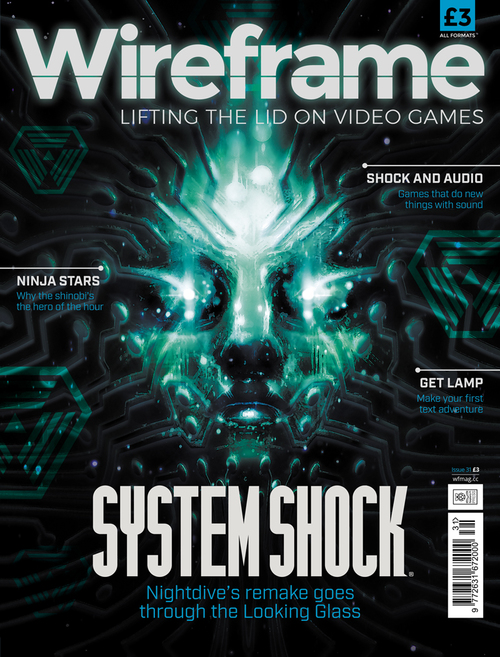 Wireframe issue 31 cover