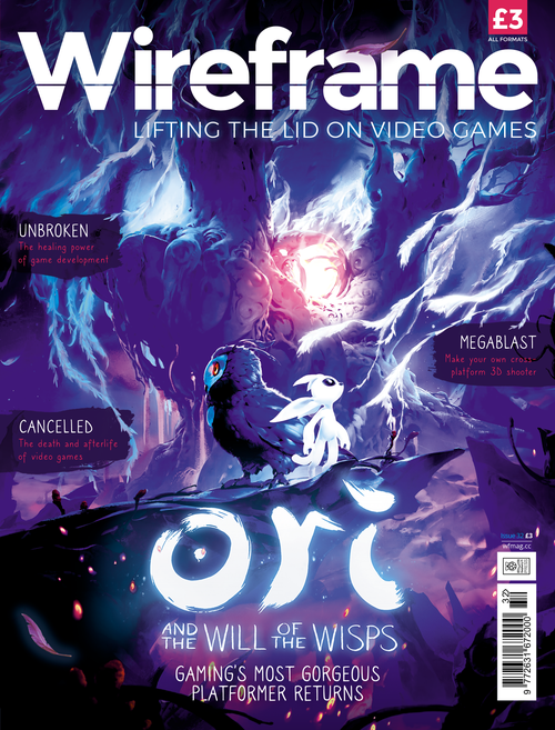 Wireframe issue 32 cover