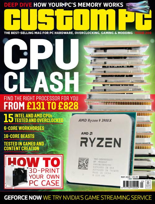 Custom PC issue 200 cover