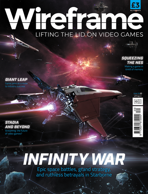 Wireframe issue 34 cover