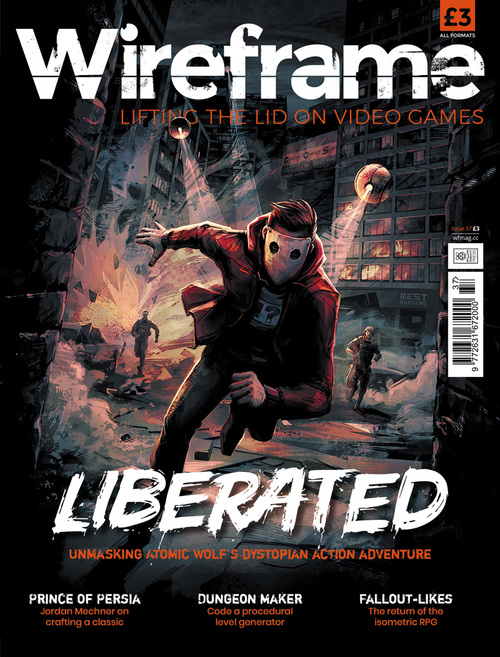 Wireframe issue 37 cover