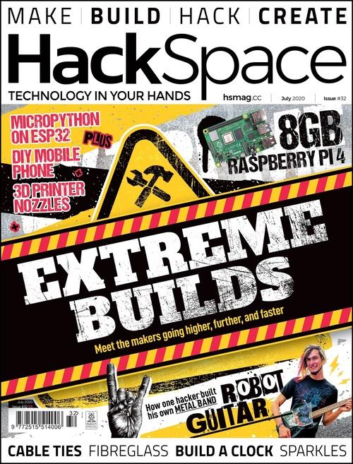HackSpace magazine issue 32 cover