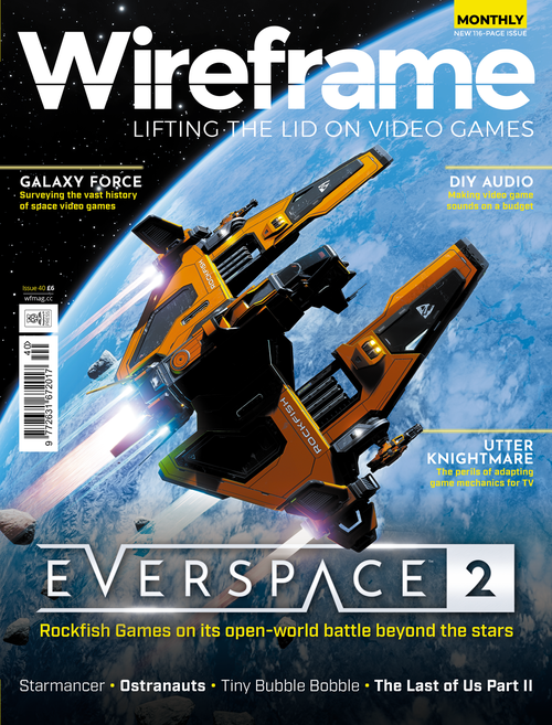 Wireframe issue 40 cover
