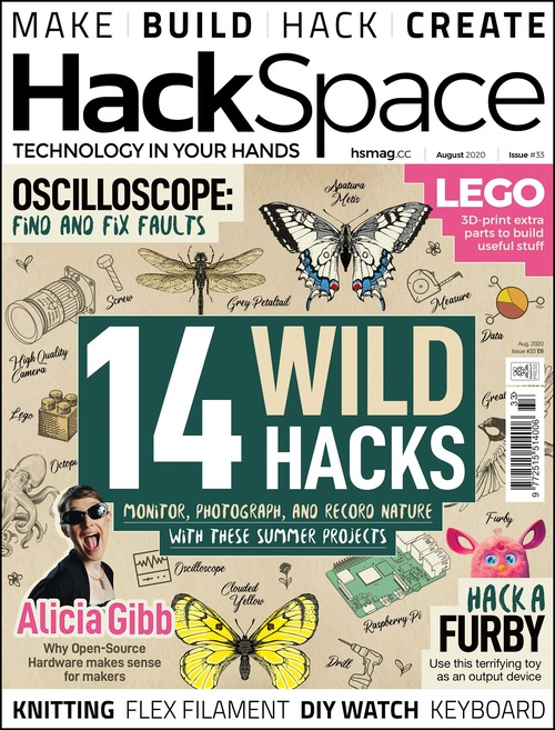HackSpace magazine issue 33 cover