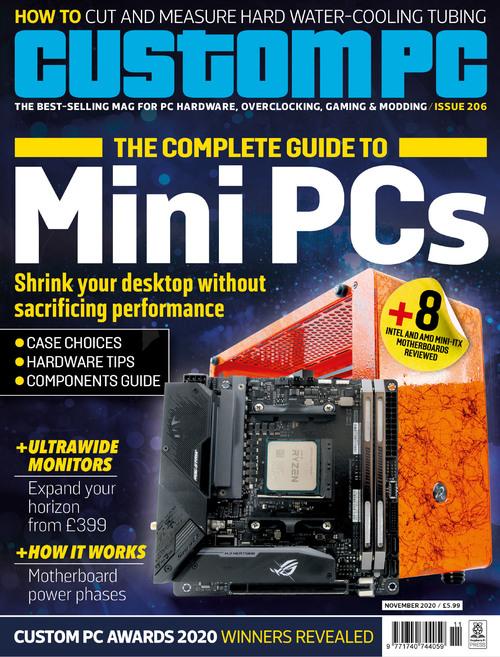 Custom PC issue 206 cover