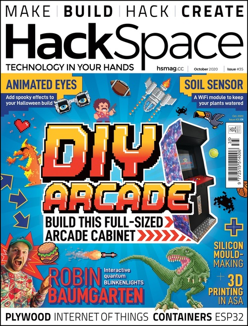 HackSpace magazine issue 35 cover