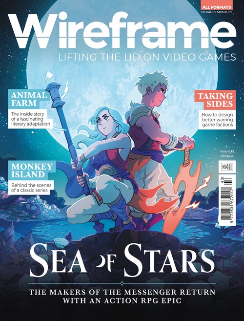 Wireframe issue 43 cover