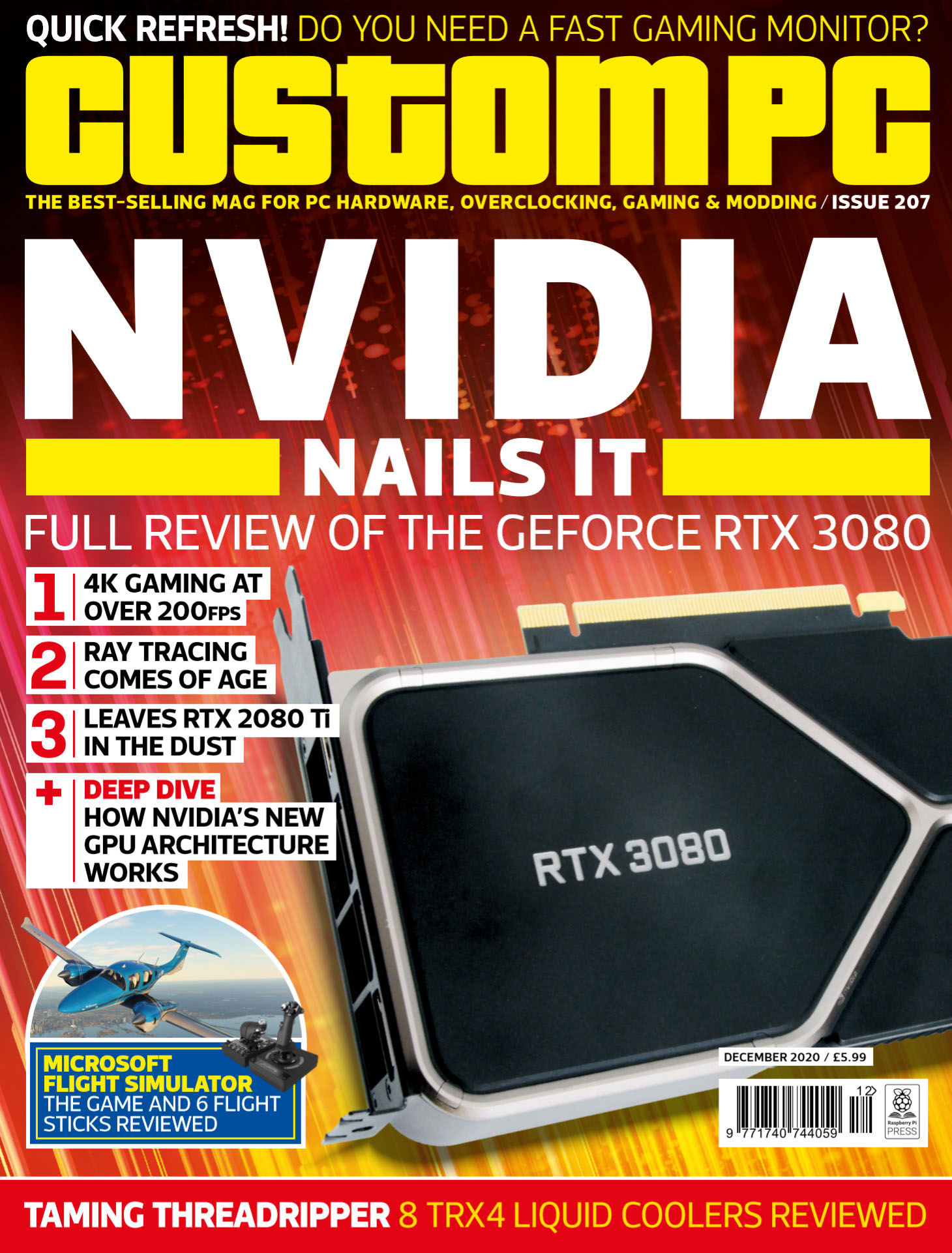 Custom PC issue 207 cover