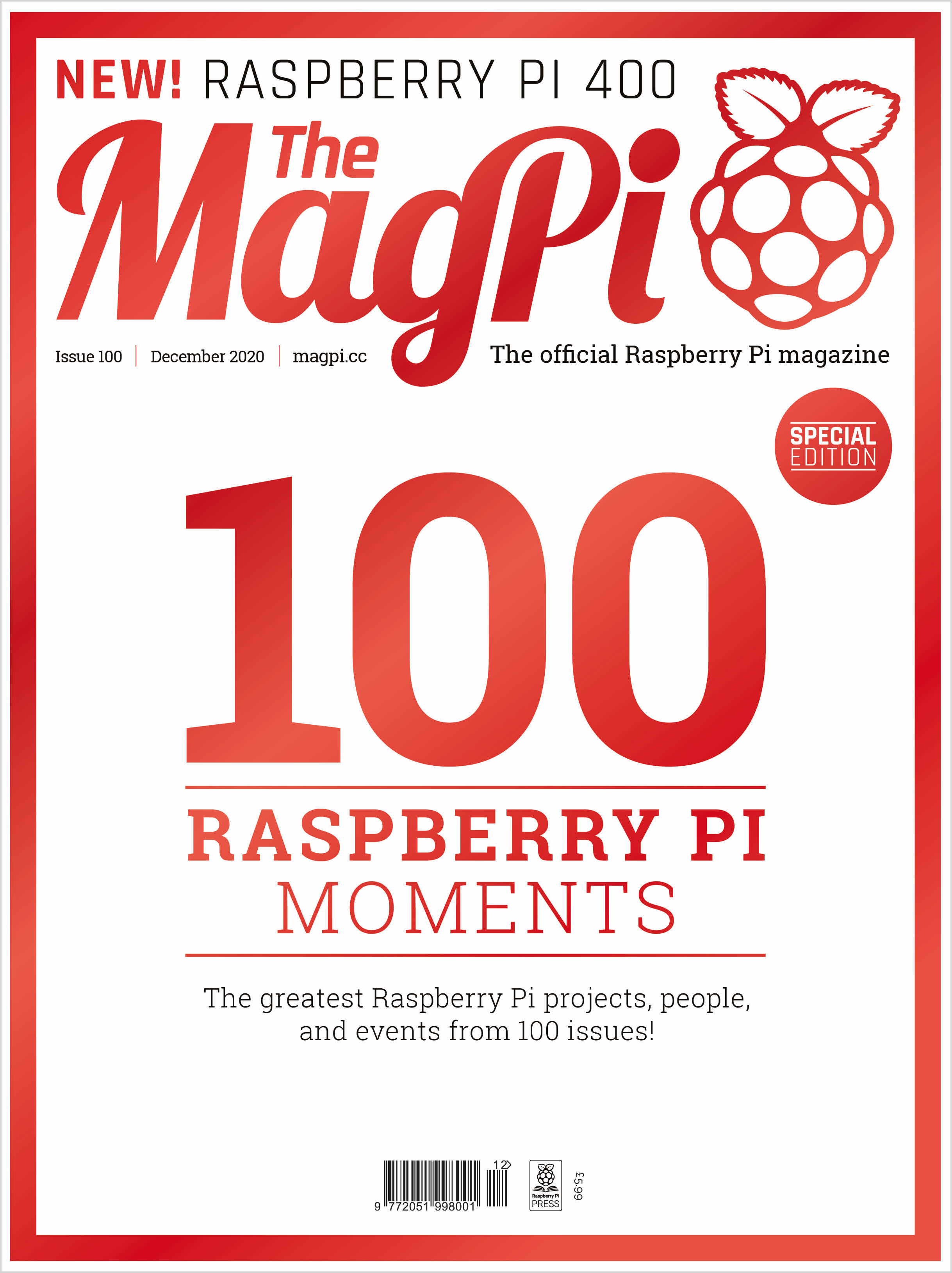 The MagPi issue 100 — The MagPi magazine