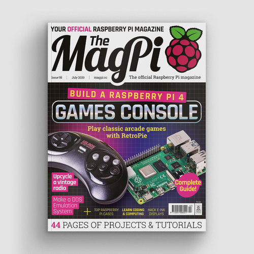 The MagPi issue 95 cover