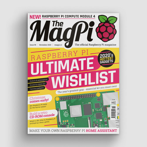 The MagPi issue 99 cover