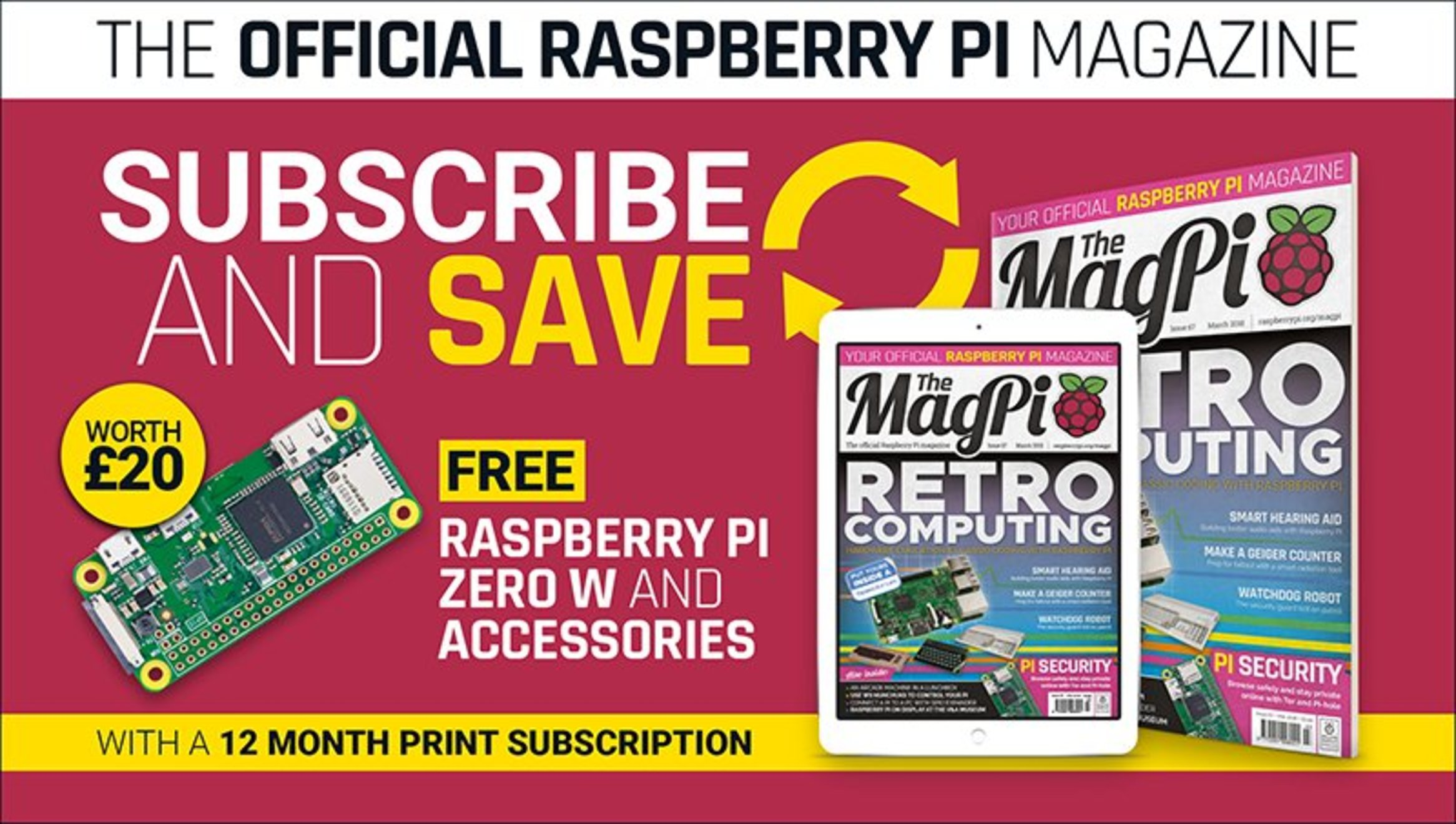 Subscribe to The MagPi magazine