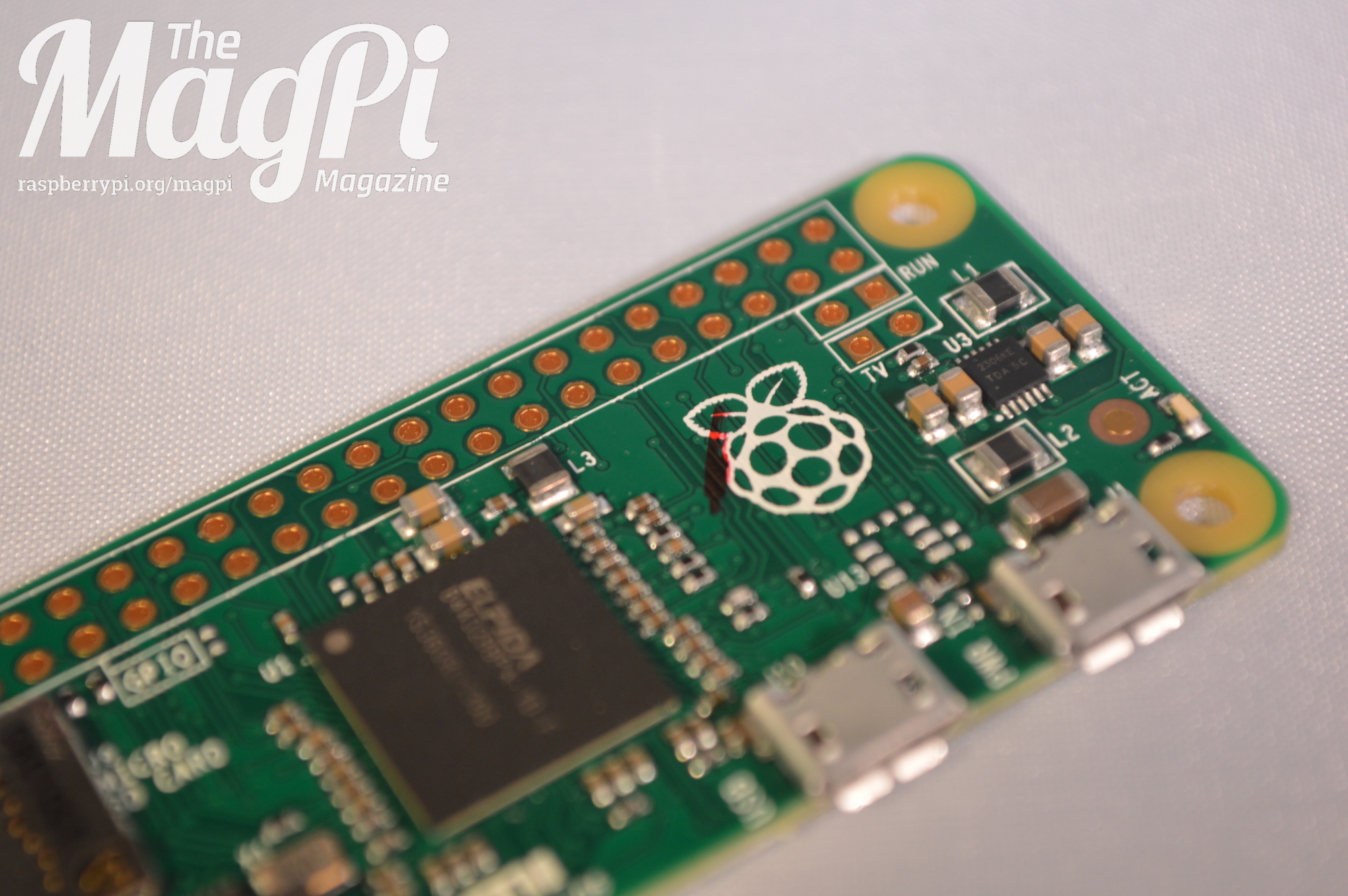 The final version of the Raspberry Pi Zero