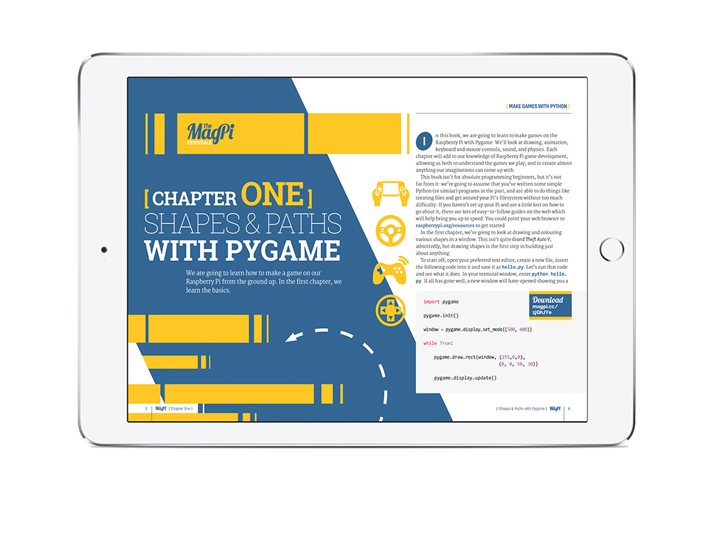 Make Games with Python e-book out now - The MagPi