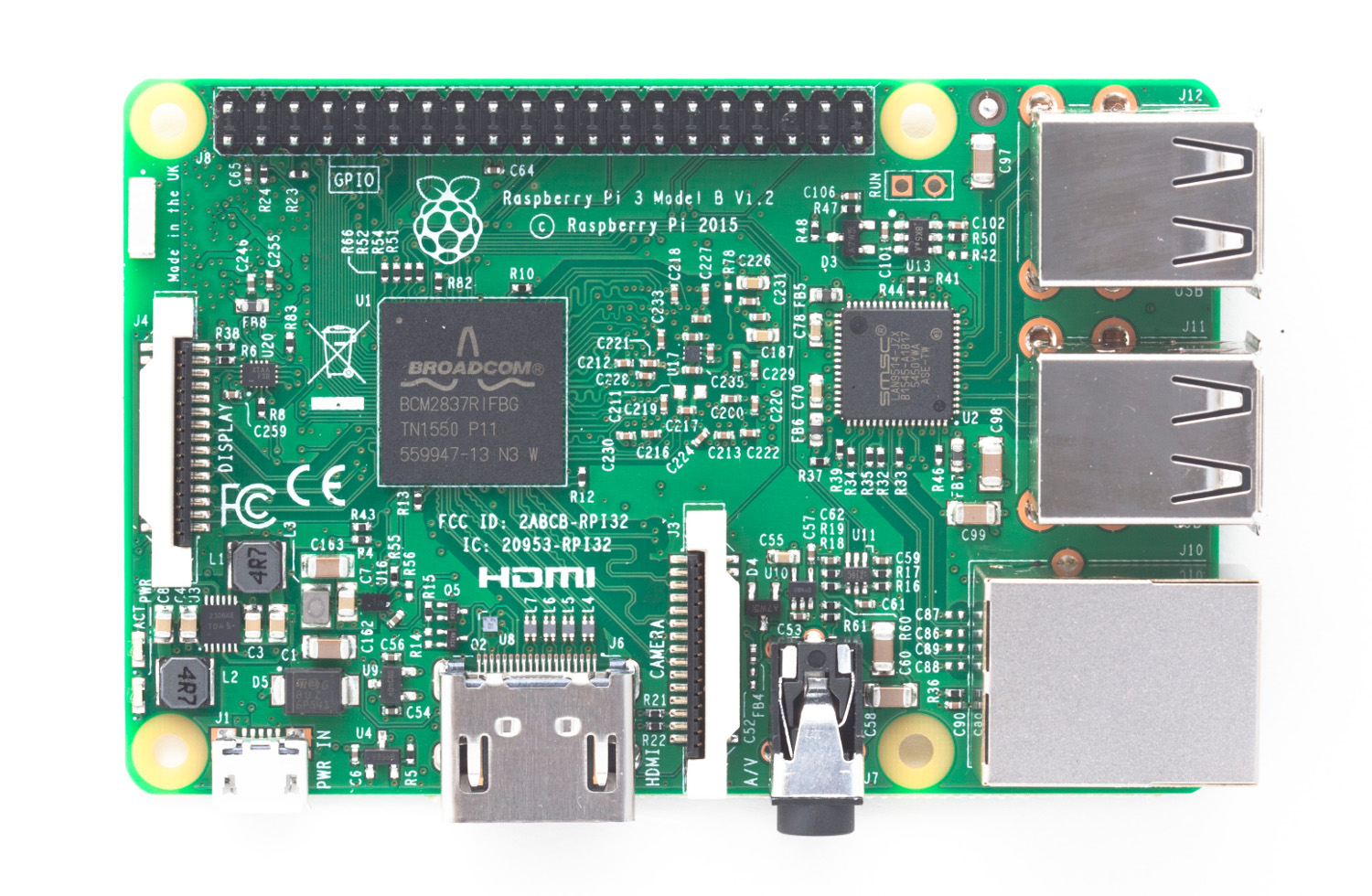 The Raspberry Pi 3 in its full glory