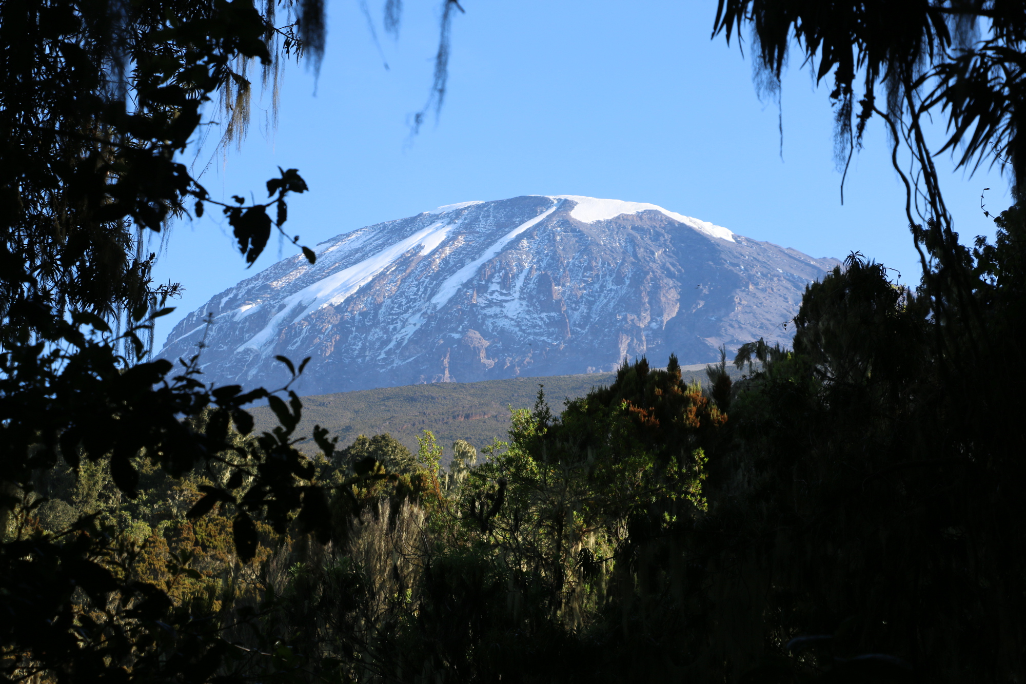 Mount Kilimanjaro from a distance