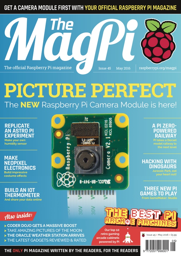 Picture perfect, the new Pi Camera Module v2