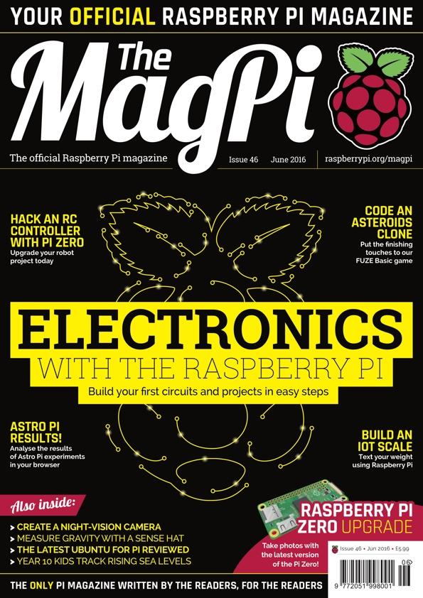 Issue 46 - The MagPi MagazineThe MagPi Magazine
