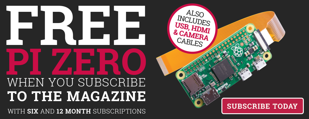 Want a new Pi Zero? Check out our latest subs offer!