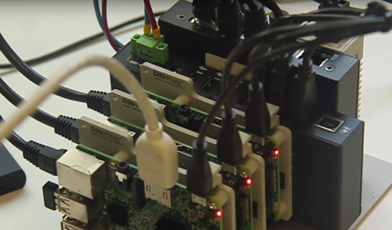 Build a cluster computer using three Raspberry Pi boardsThe